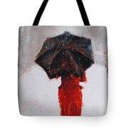 Winter Walk Tote Bag by Laura Lee Zanghetti