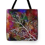 Winter Wishes Tote Bag by Judi Bagwell