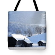 Wishing You A Wonderful Christmas Tote Bag by Sabine Jacobs