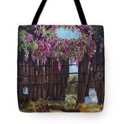 Wisteria Tote Bag by Jan Holman