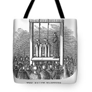 Witches: Execution, 1692 Tote Bag by Granger
