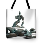 With Seed And Monarchs Hero Tote Bag by Adam Long