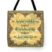 Work Dance Love Tote Bag by Debbie DeWitt