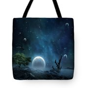 World Beyond Tote Bag by Lourry Legarde
