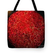 World On Fire Tote Bag by Kaye Menner