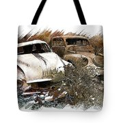 Wreck 3 Tote Bag by Mauro Celotti