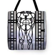 Wrought Iron Gate Tote Bag by Steve Harrington