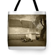 Wye Mill - Sepia Tote Bag by Brian Wallace