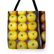 Yellow Apples Tote Bag by Carlos Caetano