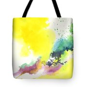 Yellow Sky 2 Tote Bag by Anil Nene