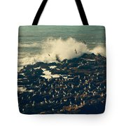 You Came Crashing Into My Heart Tote Bag by Laurie Search