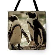 You Go First Tote Bag by Trish Tritz