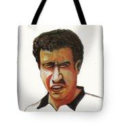Younes El Aynaoui Tote Bag by Emmanuel Baliyanga