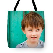 Young Child Tote Bag by Tom Gowanlock