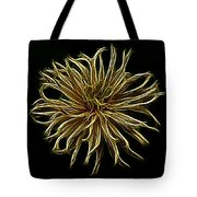 Zinnia  Tote Bag by Sandy Keeton