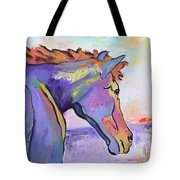 Frosty Morning Tote Bag by Pat Saunders-White