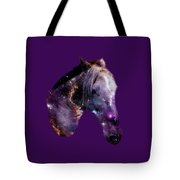 Horse In The Small Magellanic Cloud Tote Bag by Anastasiya Malakhova