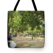 Hyde Park - London Tote Bag by Count Girolamo Pieri Nerli