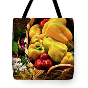 Italian Peppers Tote Bag by Harry Spitz