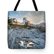 Pemaquid Point Reflection Tote Bag by Susan Cole Kelly