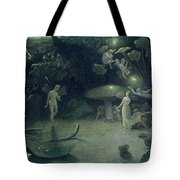 Scene From 'a Midsummer Night's Dream Tote Bag by Francis Danby