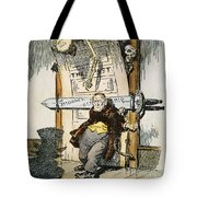 SKELETONS OF MALFEASANCE Tote Bag by Granger