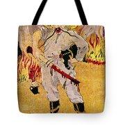 Mexico: Political Cartoon Tote Bag by Granger