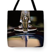 1934 Packard Hood Ornament 3 Tote Bag by Jill Reger