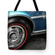 1968 Chevy Camaro Ss 396 Tote Bag by Gordon Dean II