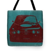Alfa Romeo Gtv Tote Bag by Naxart Studio