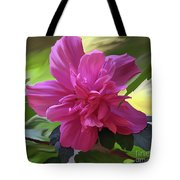 Althea Hibiscus I Tote Bag by Patricia Griffin Brett