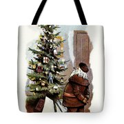 AMERICAN CHRISTMAS CARD Tote Bag by Granger
