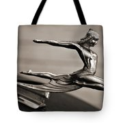 Art Deco Hood Ornament Tote Bag by Marilyn Hunt