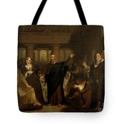 Belshazzar's Feast Tote Bag by Washington Allston