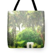 Bonaventure Cemetery Savannah Ga Tote Bag by William Dey