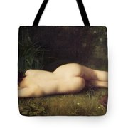 Byblis Turning Into A Spring Tote Bag by Jean-Jacques Henner