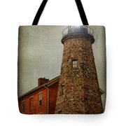Charlotte Genesee Lighthouse Tote Bag by Joel Witmeyer