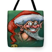 Christmas Elf Tote Bag by Kevin Middleton