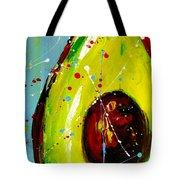 Crazy Avocado Tote Bag by Patricia Awapara