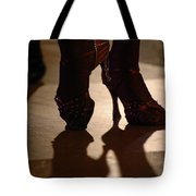 Dancing Shoes Tote Bag by Anahi DeCanio