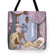 Dangerous Liaisons Tote Bag by Georges Barbier
