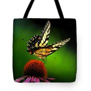 Dining Alone Tote Bag by Lois Bryan