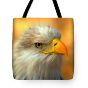 Eagle 10 Tote Bag by Marty Koch