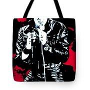 Elvis Tote Bag by Luis Ludzska