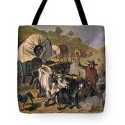 Emigrants To West, 19th C Tote Bag by Granger