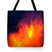 Exploding Lava Tote Bag by Greg Vaughn - Printscapes