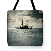 Fishing Boat Tote Bag by Joana Kruse