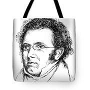 FRANZ SCHUBERT (1797-1828) Tote Bag by Granger