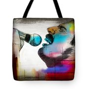 Freddie Mercury Tote Bag by Mark Ashkenazi