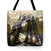 Friends Tote Bag by Julie Niemela